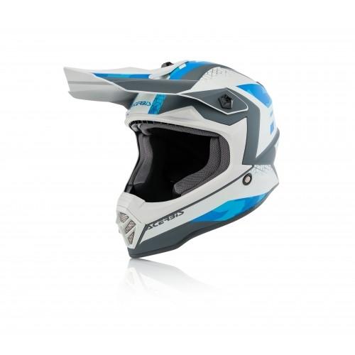 Шлем STEEL KID HELMET BLUE GREY