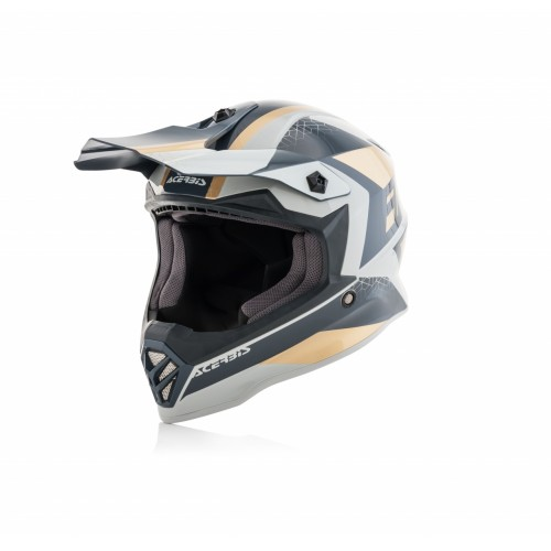 Шлем STEEL KID HELMET GOLD GREY