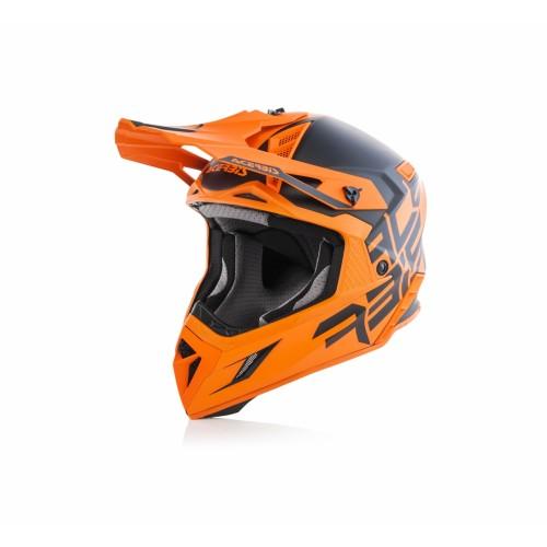 Шлем кроссовый X-PRO VTR BLACK ORANGE