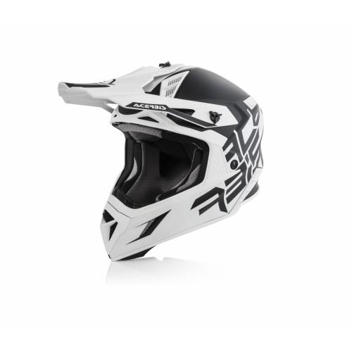 Шлем кроссовый X-PRO VTR BLACK WHITE