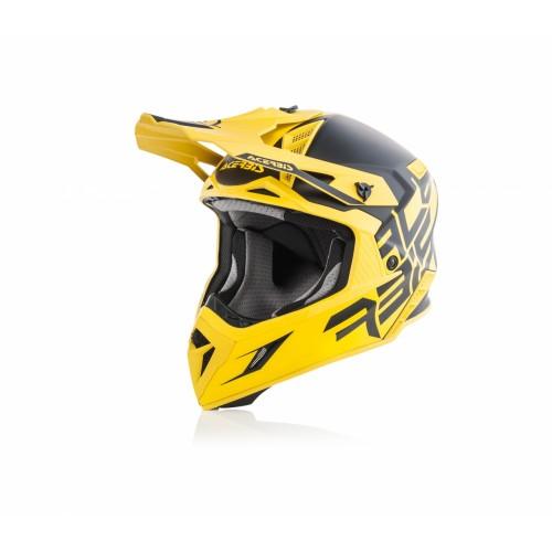 Шлем кроссовый X-PRO VTR BLACK YELLOW