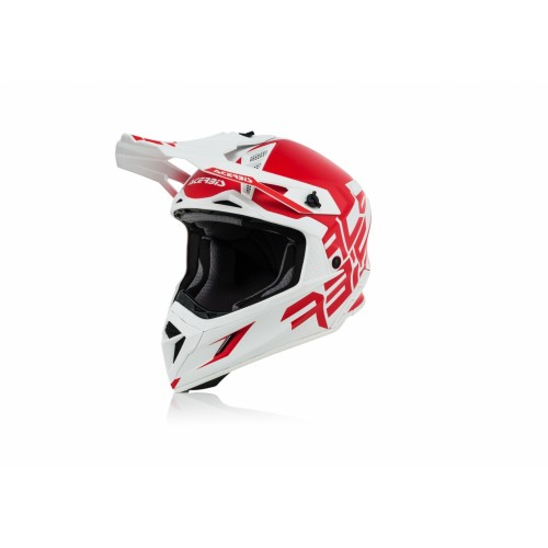 Шлем кроссовый X-PRO VTR RED WHITE