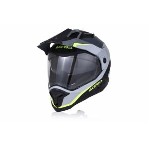 Шлем кроссовый REACTIVE GRAFFIX BLACK GREY