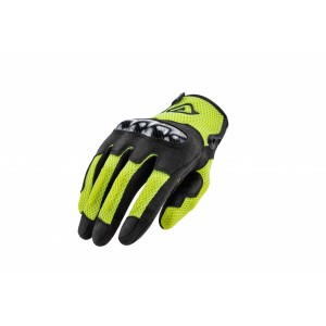 GLOVES CE RAMSEY MY VENTED BLACK YELLOW