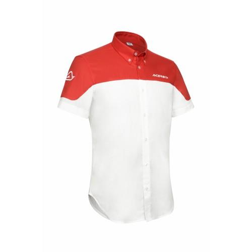Футболка TEAM SHIRT WHITE RED