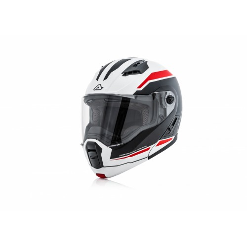 Шлем модуляр DERWEL HELMET WHITE RED