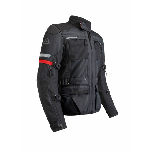 Мотокуртка X-TOUR JACKET BLACK