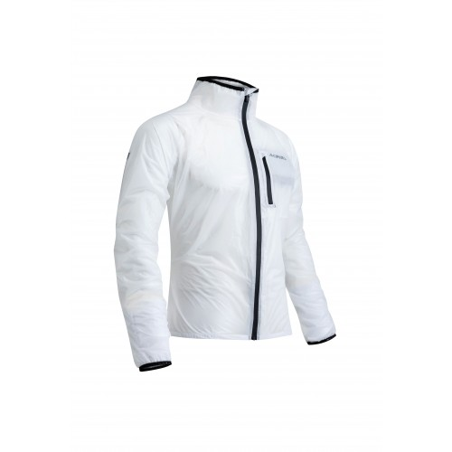 JACKET RAIN DEK PACK WHITE