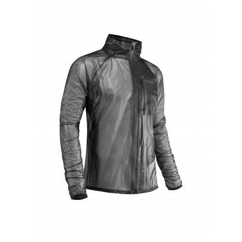 JACKET RAIN DEK PACK BLACK
