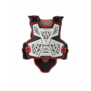 JUMP MX CHEST PROTECTOR WHITE BLACK