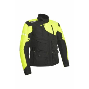 CE DISCOVERY SAFARY JACKET BLACK YELLOW