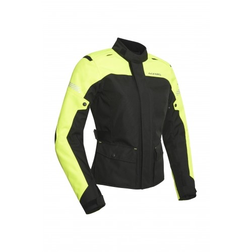 Мотокуртка женская CE DISCOVERY FOREST LADY JACKET BLACK YELLOW