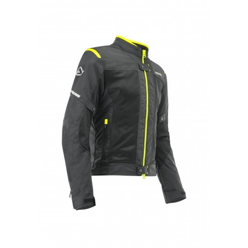 CE RAMSEY MY VENTED 2.0 JACKET BLACK YELLOW