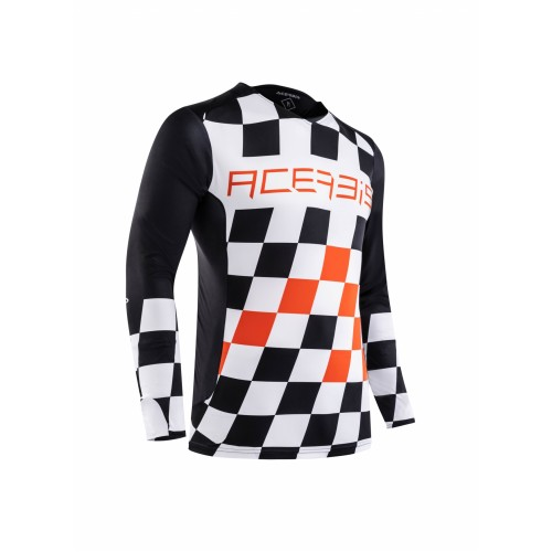 Джерси START & FINISH MX JERSEY BLACK ORANGE