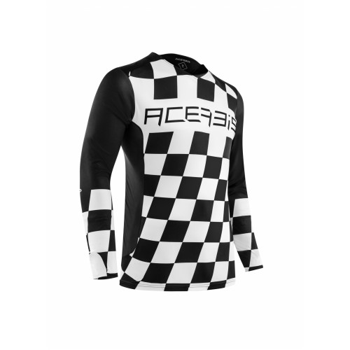 Джерси START & FINISH MX JERSEY BLACK WHITE
