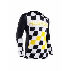 Джерси START & FINISH MX JERSEY BLACK YELLOW