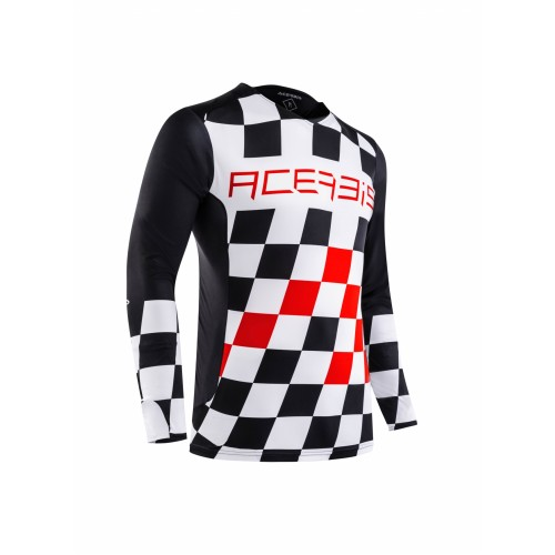 Джерси START & FINISH MX JERSEY BLACK RED
