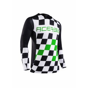 Джерси START & FINISH MX JERSEY BLACK GREEN