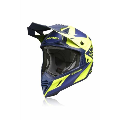 Шлем кроссовый X-TRACK HELMET BLUE YELLOW