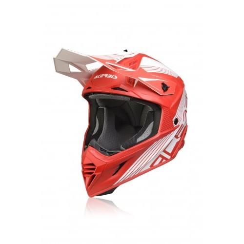Шлем кроссовый X-TRACK HELMET RED WHITE