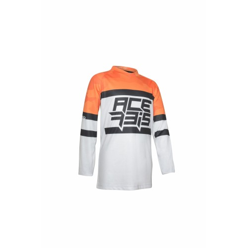 Джерси MX SKYHIGH KID JERSEY ORANGE GREY