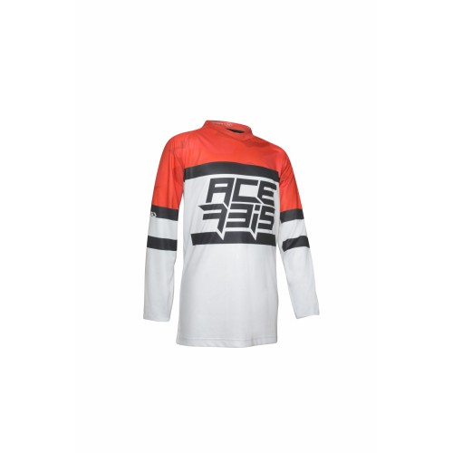 Джерси MX SKYHIGH KID JERSEY RED GREY