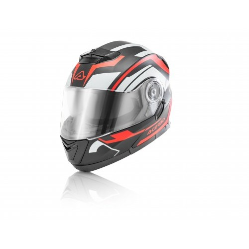 SEREL HELMET BLACK RED