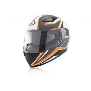Шлем интеграл FULL FACE X-STREET ORANGE WHITE