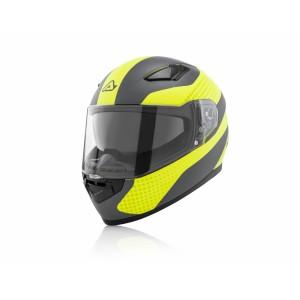 Шлем интеграл FULL FACE X-STREET YELLOW GREY