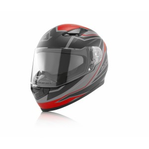 Шлем интеграл FULL FACE X-STREET RED BLACK