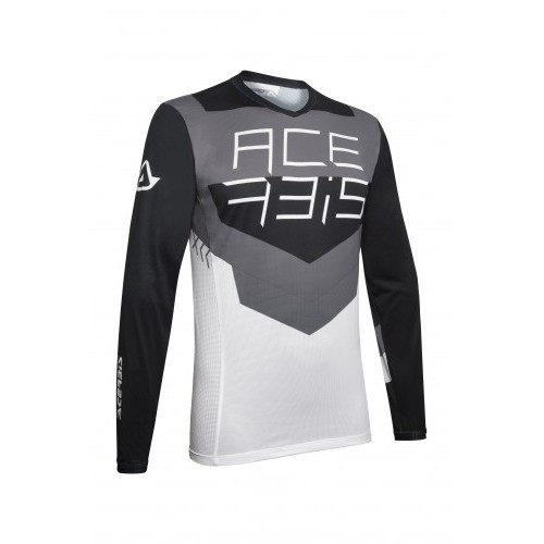 MX TRACK JERSEY BLACK GREY