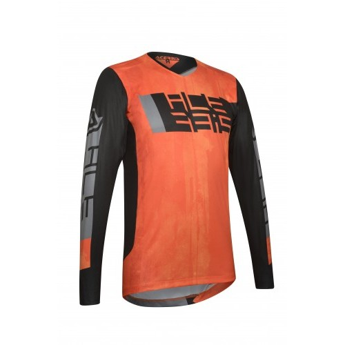 MX OUTRUN JERSEY ORANGE BLACK