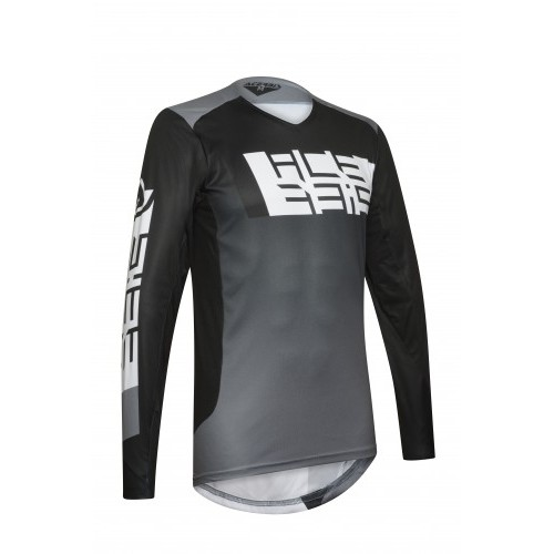 MX OUTRUN JERSEY GREY BLACK