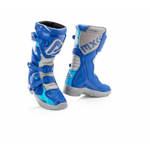 X-TEAM JR BOOTS BLUE GREY