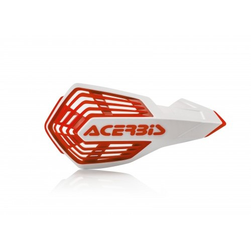 X-FUTURE HANDGUARDS WHITE RED