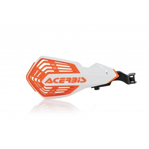 K-FUTURE HANDGUARDS WHITE ORANGE