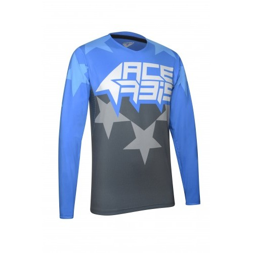 X-FLEX STARCHASER JERSEY BLUE GREY