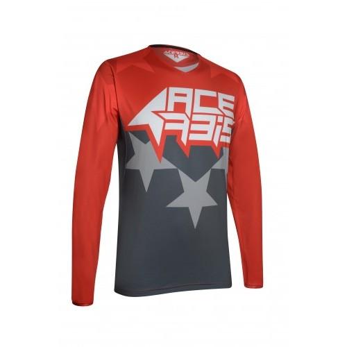 X-FLEX STARCHASER JERSEY RED GREY