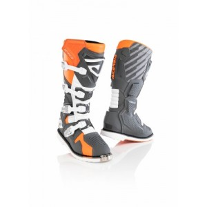 X-RACE BOOTS ORANGE GREY