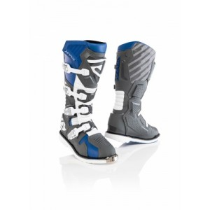 X-RACE BOOTS BLUE GREY