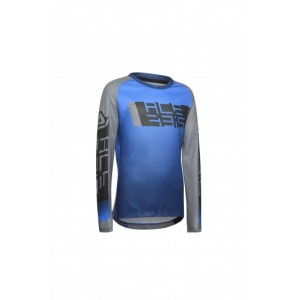 MX OUTRUN KID JERSEY BLUE GREY