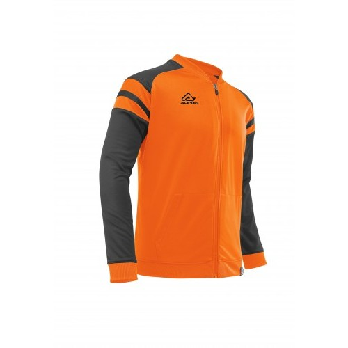 KEMARI TRACKSUIT JACKET ORANGE BLACK