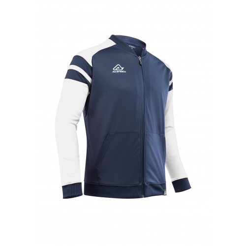 KEMARI TRACKSUIT JACKET BLUE WHITE