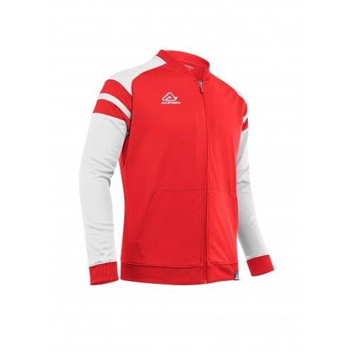 KEMARI TRACKSUIT JACKET RED WHITE