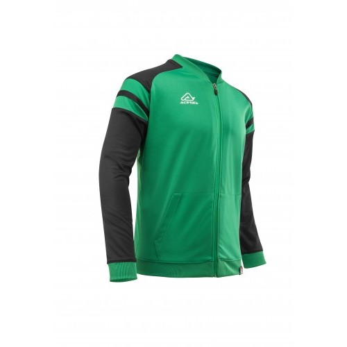KEMARI TRACKSUIT JACKET GREEN BLACK