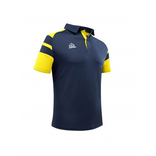 KEMARI POLO BLUE YELLOW