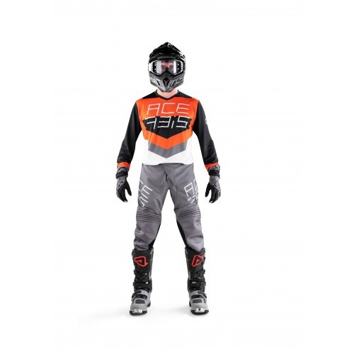 MX TRACK BLACK ORANGE